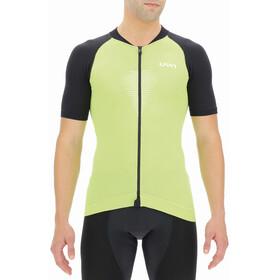 UYN Granfondo Shortsleeve Biking Shirt Men, verde/nero